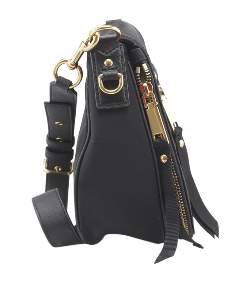 f1cd46be82f1 Marc Jacobs Trooper Nomad Basic (164048) Black Canvas Cross Body Bag -  Tradesy