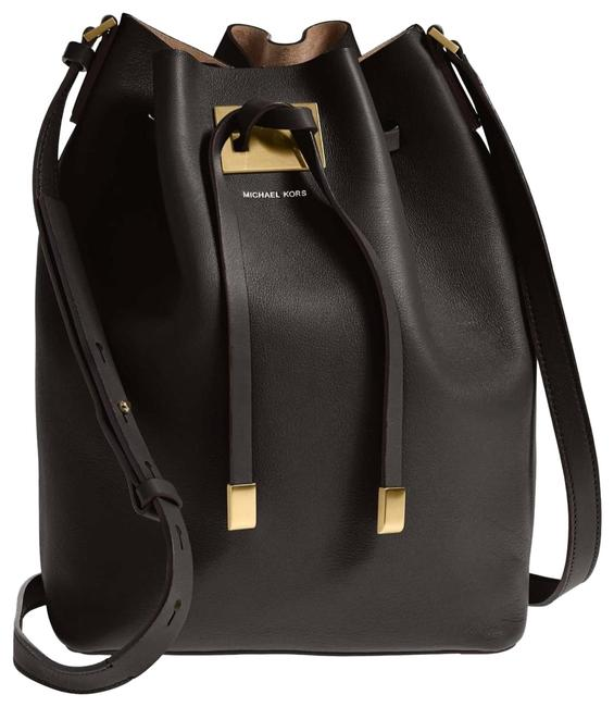 Item - Bucket Large Miranda Drawstring Black Leather Shoulder Bag