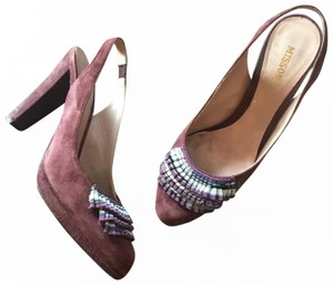 Missoni purple Platforms