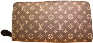 Louis Vuitton Louis Vuitton Zippy Wallet M63010 Monogram Idylle Canvas Encre