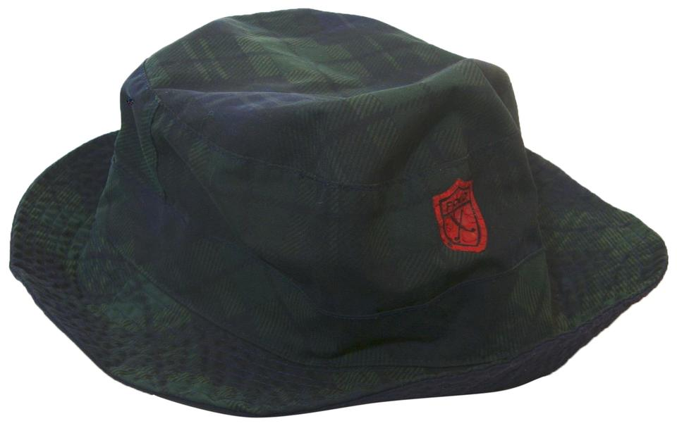 ac07f85b0c3 Polo Ralph Lauren Blue   Green Plaid Vintage Bucket Golf Hat - Tradesy
