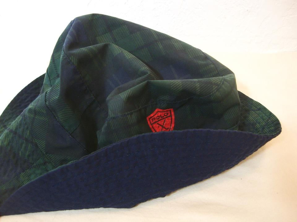 Polo Ralph Lauren Blue   Green Plaid Vintage Bucket Golf Hat - Tradesy 45d9f66b30ef