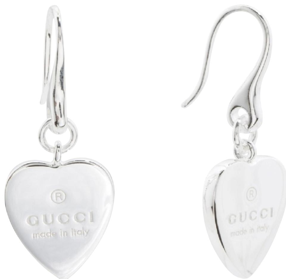 2d7e2cbf7 Gucci New authentic Gucci trademark heart drop earrings Image 0 ...