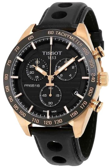 Preload https://img-static.tradesy.com/item/24692996/tissot-gold-tone-black-prs-516-chronograph-men-s-leather-watch-0-1-540-540.jpg