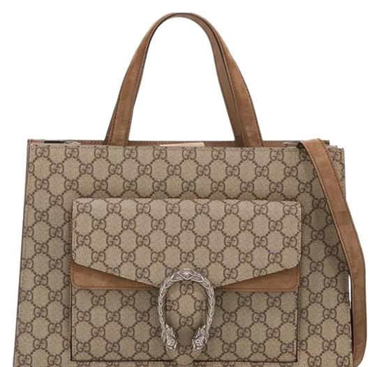 Preload https://img-static.tradesy.com/item/24693000/gucci-dionysus-medium-brown-and-beige-leather-satchel-0-1-540-540.jpg