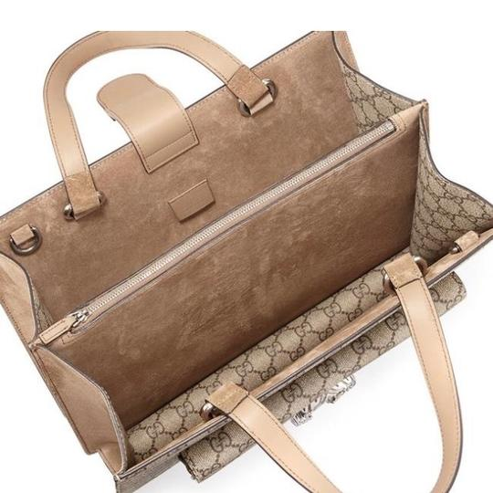 Gucci Satchel in brown and beige