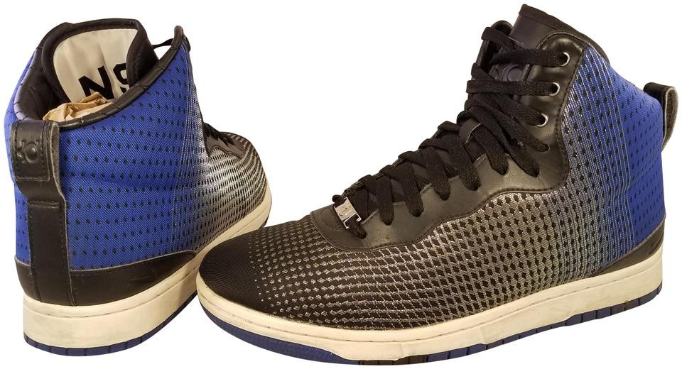 3feba8084285 Nike Kd Lifestyle Man Sneakers Man Size 10.5 black and blue Athletic Image  0 ...
