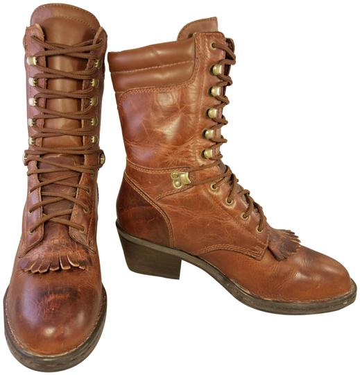 Preload https://img-static.tradesy.com/item/24693166/double-h-boots-brown-woman-granny-goth-punk-leather-m-bootsbooties-size-us-75-regular-m-b-0-1-540-540.jpg