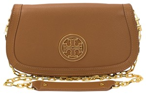 Tory Burch Amanda 887712200443 Royal Tan Clutch