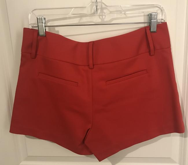 Alice + Olivia Fitted Spring Summer Structured Classic Mini/Short Shorts Perfect Poppy