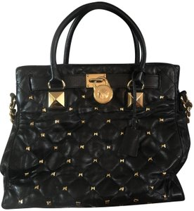 Michael Kors Tote in Black and Gold
