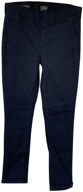 Item - Blue Dark Rinse Alina Pull On Ankle Jeggings Size 4 (S, 27)