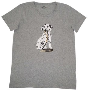 J.Crew Dog T-shirt Cotton T Shirt