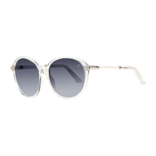 Preload https://img-static.tradesy.com/item/24693498/swarovski-clear-crystal-arm-round-sunglasses-0-0-540-540.jpg