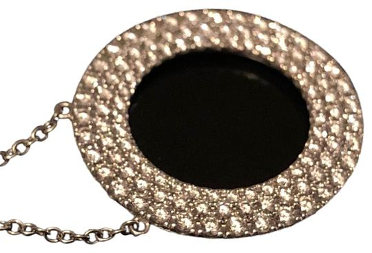 Preload https://img-static.tradesy.com/item/24693541/tiffany-and-co-metro-collection-18k-white-gold-open-circle-pendant-set-with-a-three-row-of-diamonds-0-1-540-540.jpg