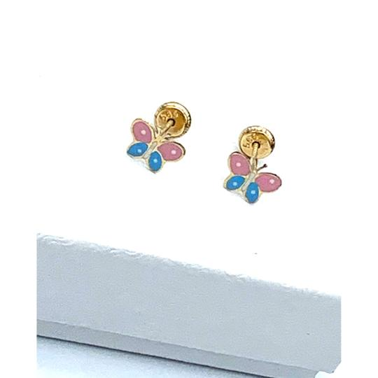 Other colorful butterfly stud earrings