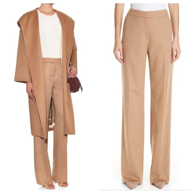 Preload https://img-static.tradesy.com/item/24693673/camel-high-waisted-pleated-pants-size-8-m-29-30-0-1-650-650.jpg