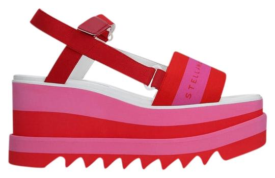 Preload https://img-static.tradesy.com/item/24693776/stella-mccartney-pink-striped-platform-sandals-size-eu-39-approx-us-9-regular-m-b-0-1-540-540.jpg