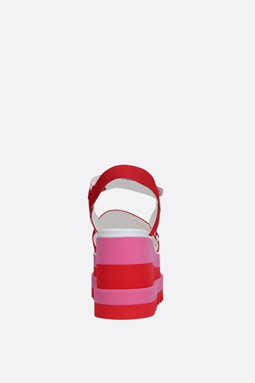Stella McCartney Platform Tall Pink Sandals