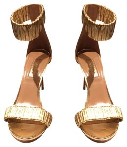 Aquazzura Gold Formal