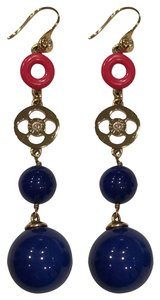 Henri Bendel primary color chandelier earrings