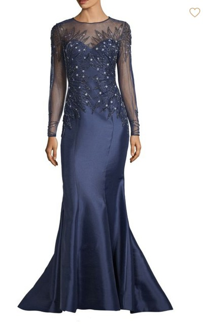 Item - Navi Beaded Top Gown Long Formal Dress Size 6 (S)