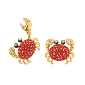 Kate Spade Shore Thing pave Crab Stud Earrings Style # wbruf497