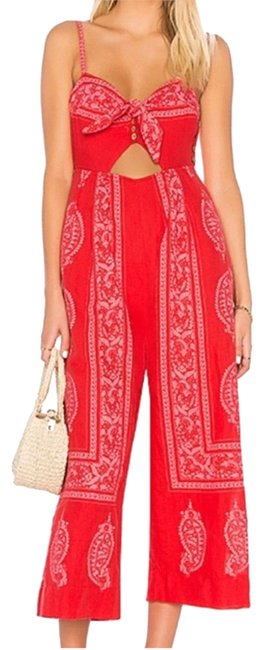 Item - Red and White 234567 Romper/Jumpsuit