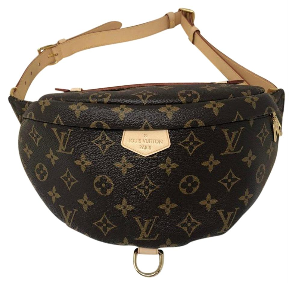 383718f2475 Louis Vuitton Bumbag Monogram Brown and Cream Leather Cross Body Bag ...