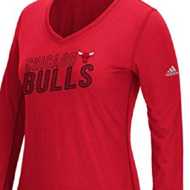 adidas T Shirt Red Image 2