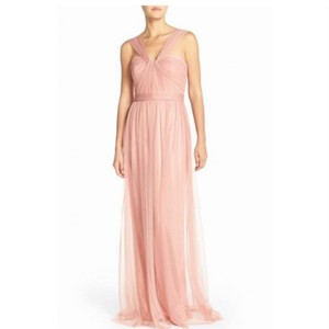 Amsale Rose Aisha Tulle Gown Feminine Bridesmaid/Mob Dress Size 6 (S)