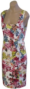 Dolce&Gabbana Floral Sleeveless Sheath Dress