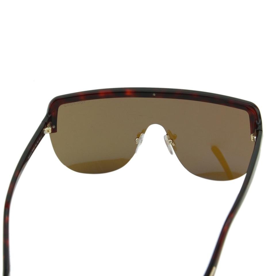 34af0d18860 Tom Ford Tortoise Brown New 2018 Tf Angus-02 Ft-560 Sporty Shield ...