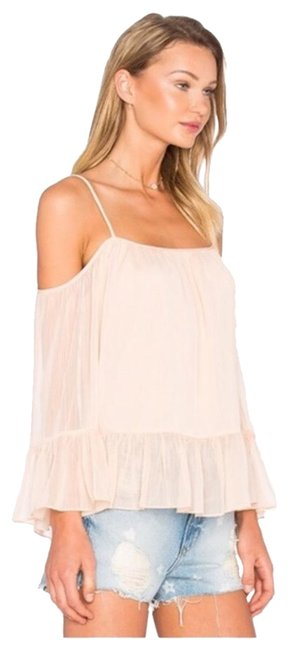 Preload https://img-static.tradesy.com/item/24695110/lovers-friends-pink-maison-off-the-shoulder-blouse-size-6-s-0-1-650-650.jpg