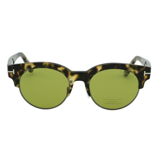 Tom Ford New Henri-02 TF598 55N Clubround Glass Lenses Sunglasses 52mm Image 4