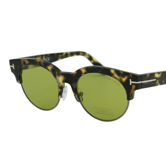 Tom Ford New Henri-02 TF598 55N Clubround Glass Lenses Sunglasses 52mm Image 5