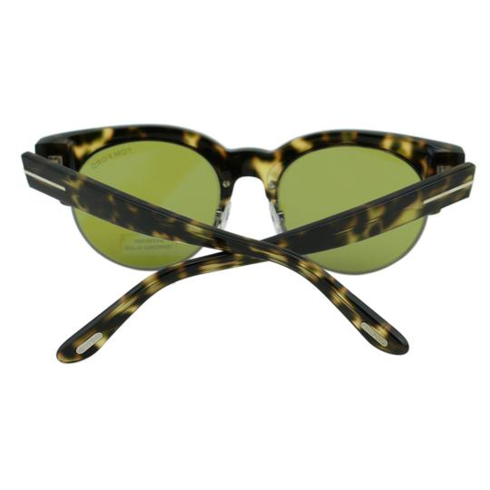 Tom Ford New Henri-02 TF598 55N Clubround Glass Lenses Sunglasses 52mm Image 9