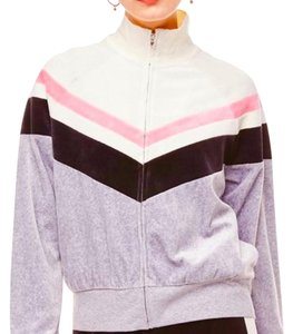 Juicy Couture grey, pink, white Jacket