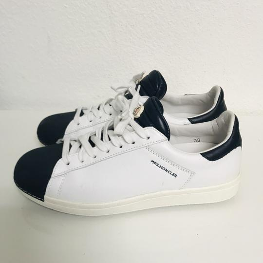 Moncler Sneakers Leather Musthave Casual white Athletic Image 1
