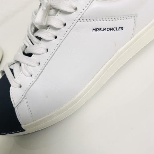 Moncler Sneakers Leather Musthave Casual white Athletic Image 5