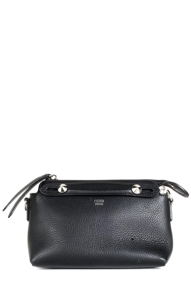fe86fbe4e9 Fendi Mini By The Way Black Leather Cross Body Bag - Tradesy