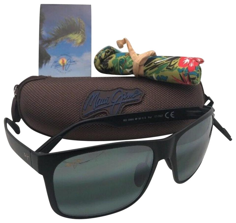 0a80ffaed93 Maui Jim Polarized MAUI JIM Sunglasses RED SANDS MJ 432-2M Matte Black w/  ...