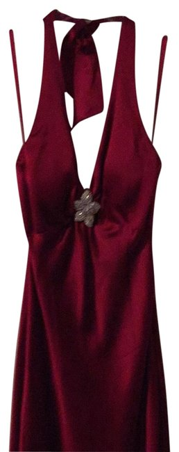 Item - Red 3265 Mid-length Formal Dress Size 4 (S)