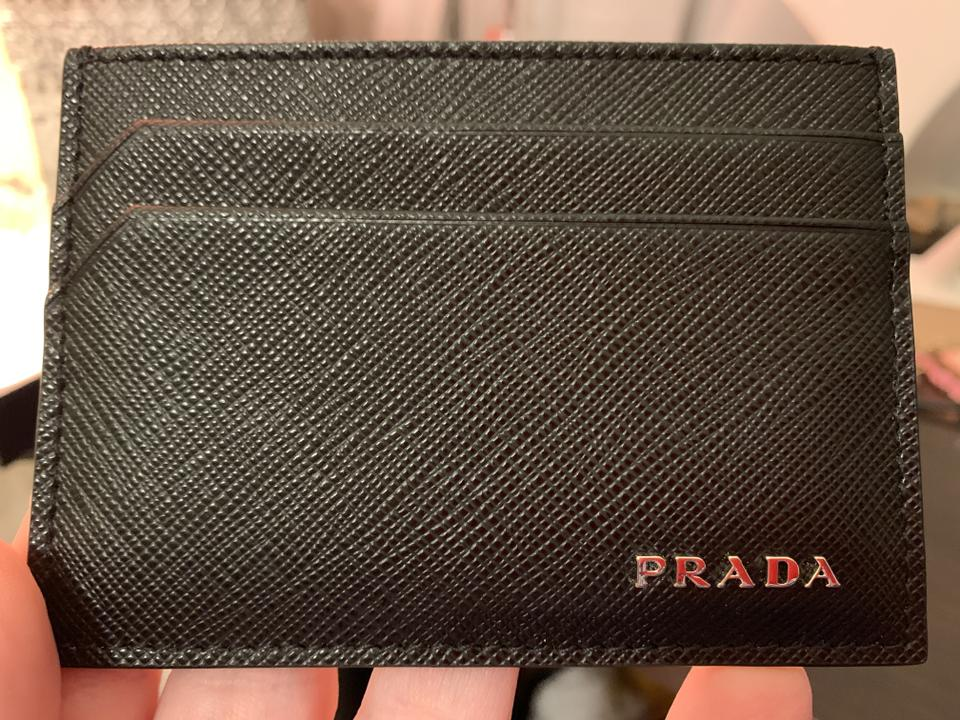 cb2a53b1e6aa Prada Black -nero----brand New Card Holder Wallet - Tradesy