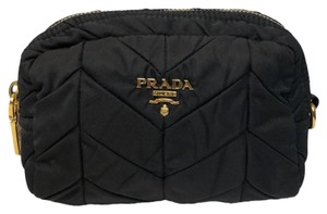 Prada Quilted Fabric Pouch