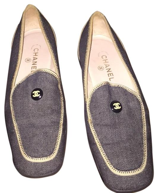 Item - Denim Loafers Flats Size EU 40 (Approx. US 10) Regular (M, B)