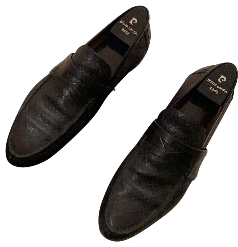ba8adc63212 Gucci Black Men's Loafers with Symbol On Them Flats Size EU 40.5 (Approx.  US 10.5) Regular (M, B) 63% off retail