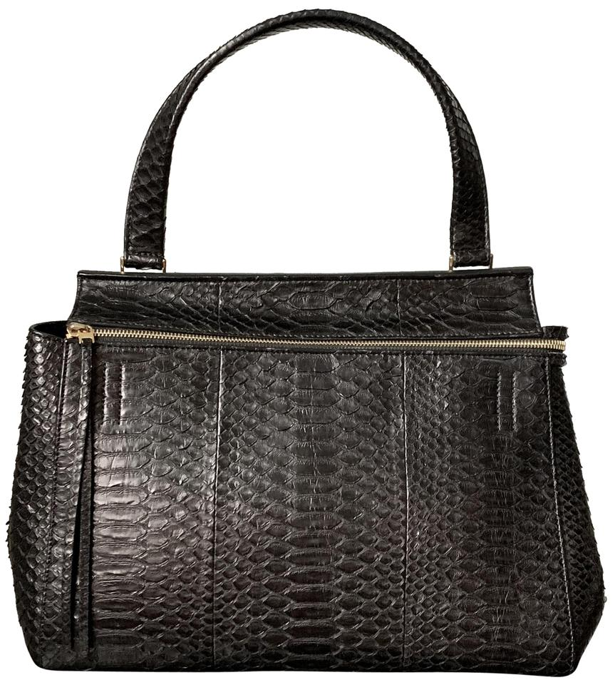 Céline Edge Use Coupon Comeback10 Until 02 28 Medium Black Snakeskin ... 8c0b389ea3944