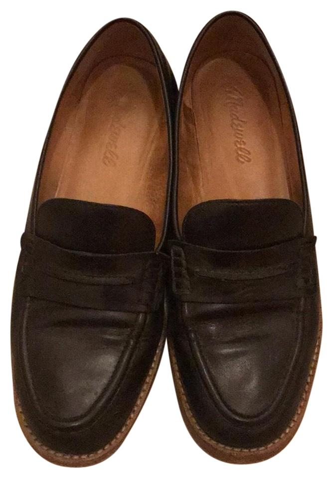 760a85be26b Madewell Black Elinor Loafer Flats Size US 7 Regular (M