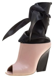 Dior Leather Ankle Pink Boots